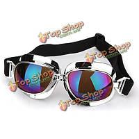 Универсальный анти-УФ мотоциклетный шлем скутер очки цветной фильтр