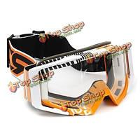 Мотокросс шлем очки спорта лыжи ветрозащитный очки очки для мотоциклов внедорожного джипа