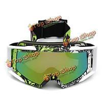 Мотокросс шлем очки ветрозащитной защитные очки для мотоциклов внедорожного сув анти-УФ