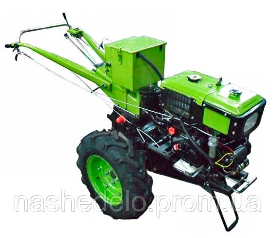 Мотоблок Кентавр МБ 1081Д Электростартер (дизель 8л.с.)