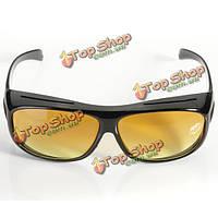 Ночного видения вождения стекел унисекс защиты солнцезащитные очки УФ