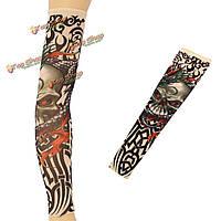 Рукав татуировка выше локтя 47 см