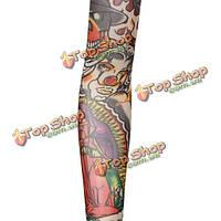 Рукав татуировка съемный длинный 47 см