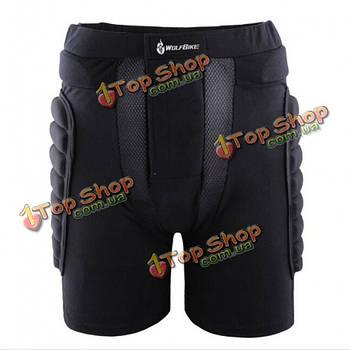 Мото шорты защитные черные