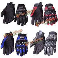 Полный палец гонки на мотоциклах перчатки для безопасности байка про байкера МКС-01б