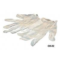 Перчатки одноразовые винилово-латексные в упаковке 100 шт OH-02 YRE