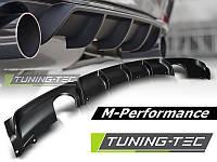 Накладка на задний бампер обвес BMW F30 стиль М-Performance