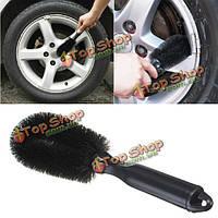 Колесо шина оправа щетку автомобиль грузовик велосипед мыть мыть инструмент для чистки
