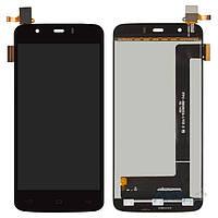 Дисплей (экран) для телефона Fly IQ4414 Quad EVO Tech 3 + Touchscreen Original Black