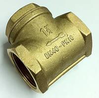 """Лепестковый обратный клапан отопления ITAP 1"""", фото 1"""