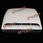 Автомобиль декоративный всасываемого воздуха капот совок отверстие крышки крышки белый универсальный, фото 3