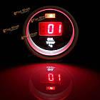 52мм красный цифровой дисплей температуры масла датчик с датчиком температуры фитинга комплект, фото 7