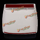 Автомобиль декоративный всасываемого воздуха капот совок отверстие крышки крышки белый универсальный, фото 6