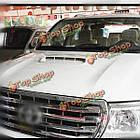 Автомобиль декоративный всасываемого воздуха капот совок отверстие крышки крышки белый универсальный, фото 9