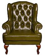 """Оригинальное кожаное кресло """"Вальтер"""" (115 см)"""