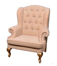 """Оригінальне шкіряне крісло """"Вальтер"""" (115 см), фото 2"""