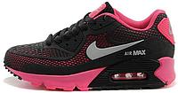 Женские кроссовки Nike Air Max 90 GL (найк аир макс 90) черные