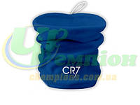 Флисовый горловик-шапка, бафф, гейтор CR7, Роналдо синий