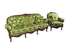 Крісло Міла з різьбою, фото 3