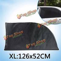 Тироль автомобиль солнце оттенки сетка для окна сзади автомобиля боковую дверь открытый защиты путешествия УФ xl126 * 52cm 2шт