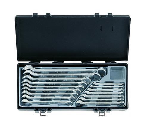 Набор ключей комбинированных 16 предметов (6-24 мм) в кейсе, фото 2