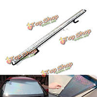 Лазерного отражения света вручную убирающийся ПВХ теплоизоляция окна автомобиля козырек от солнца