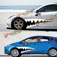 Набор 1.3м большой акулы автомобиля стиль талии Гирлянда Ьк наклейка