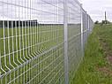 Панельные (секционные) заборы из сварной сетки с полимерным покрытием, фото 8