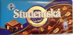 """Шоколад """"Studentska original mlecna"""" с арахисом,желе и изюмом 0.200 г."""