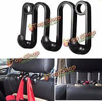 Черный автомобиль сиденье пальто крюк кошелек сумка висит вешалка автоматический организатор крюк