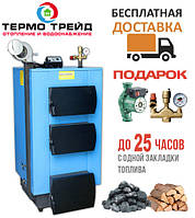 Котел твердотопливный утилизатор УкрТермо 100, 20 кВт.