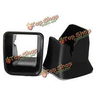 Сиденье безопасности ISOFIX интерфейс пряжки фиксируется направляющий паз 4x5x5cm черный Авто 2 шт ребенок