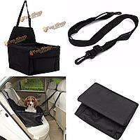 Собака кошка крышка бустер сиденье автомобиля авто для перевозки домашних животных щенок безопасность путешествия корзина черный