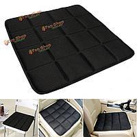 Бамбук уголь дышащая подушка сиденья коврик чехол накладка для автомобиля офисный стул черный