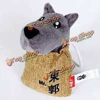 Волк кукла очарование автомобиль освежитель воздух, наполненный мешок бамбука углерода
