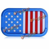 Флаг автомобиля серии циновка телефона-навигация держатель Америка синий