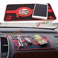 28 x 17см приборной панели автомобиля противоскользящие коврик коврик мягкий коврик для ключевых телефон солнцезащитные очки