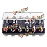 12v 6 способ грузовик держатель предохранителей блок АРУ автомобиль авто автомобиль аудио часть