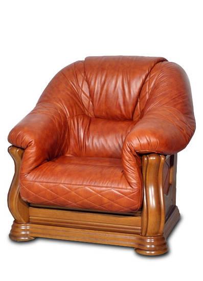 Кожаное кресло Маркиз (105 см)