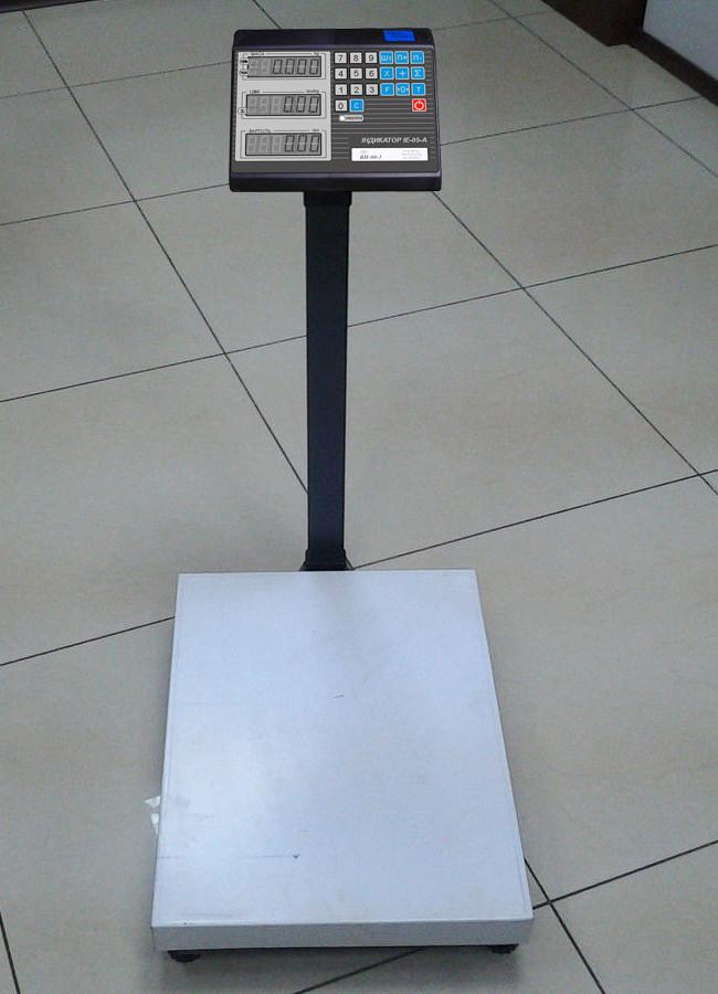 Товарні електронні ваги до 60 кг ВН-60-1D-3-A (РКІ) (500 х 600)
