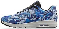 Женские кроссовки Nike Air Max Ultra Tokyo (Найк Аир Макс) в стиле синие