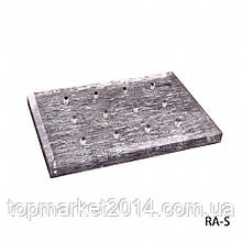 Подставка для насадок серебряного цвета