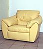 Стильное кожаное кресло ЭЛЕГИЯ (120 см), фото 5