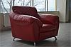 Современное кожаное кресло - ЭЛЬЗА (120 см), фото 4