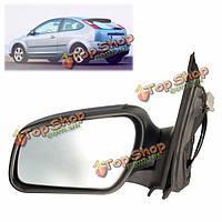 Левая сторона электрический дверь крыло зеркало стекло для Ford Focus MK2 05-08