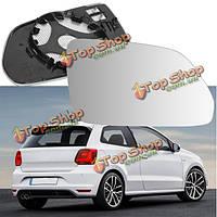 Автомобиль зеркало из стекла с правой стороны водителя широкий угол крыла нагревают VW Polo 2002-2009