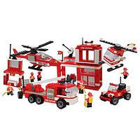 Конструктор Пожарная станция 750 деталей Best-Lock 75052, фото 1