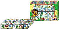 "Набор кубиков ""Арифметика + Абетка"" Технок (2728)"
