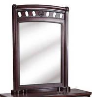 "Зеркало ""Флоренция"" массив дуба 89х118 см. каштан"