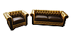 Стильное кожаное кресло САН-РЕМО (125 см), фото 2